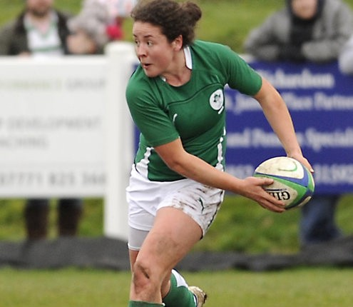 Ireland's Larissa Muldoon.