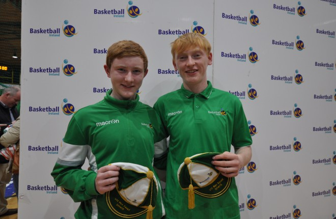 Irish Internationals Padraig and Sean McGettigan