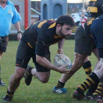 Letterkenny Rugby team's Terence Gallagher