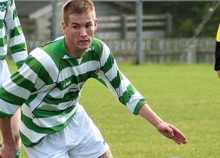 Rathmullan Celtic's Eoin Sheridan, who will play against Regional United on Sunday.