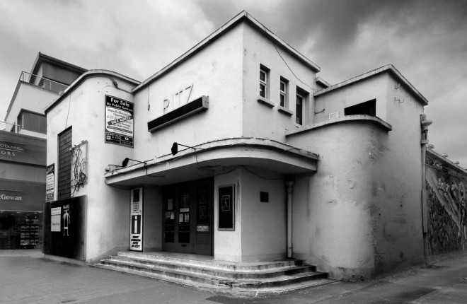 The old Ritz Cinema in Ballybofey as captured by Mark Fearon.