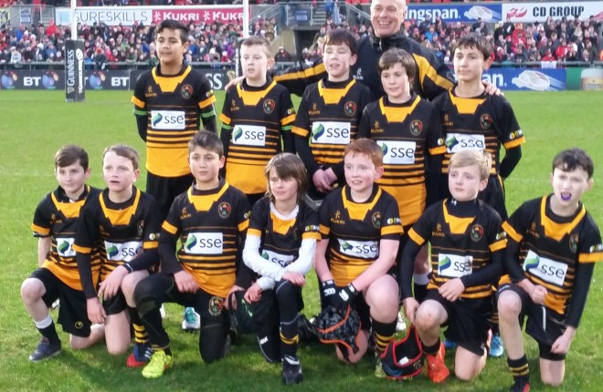 Letterkenny U12s: Top row from left: Jaynaid Rayes, Ewan Douglas, Isaac McIlwaine, Callum Orsi, Tiernan McFadden. Bottom row from left: Dylan Coyle, Matthew Murray, Gaetano Cinquenani, Rory Gardiner, Jack Gibbons, Cuan Brophy, David Henry and Coach: Derek Plumb