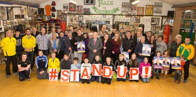 Cllr Frank McBrearty's election launch