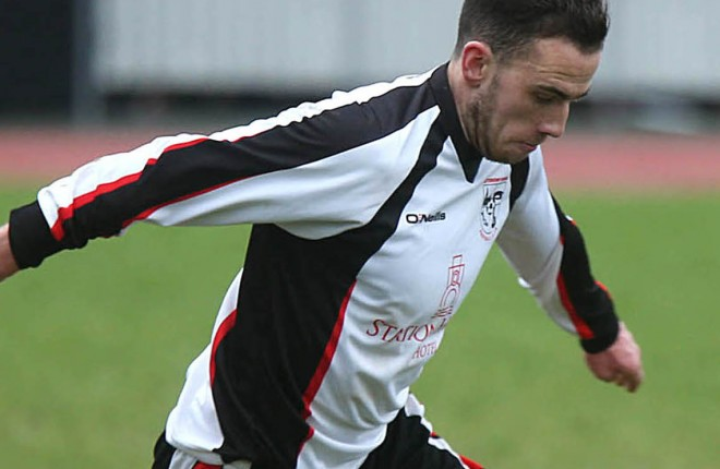 Paul McVeigh, who scored for Letterkenny Rovers on Sunday.
