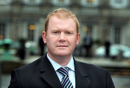 Paudie Coffey TD., Minister of State for Housing, Planning and Co-ordination of Construction 2020 Strategy.