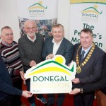 The official launch of the 2016 Donegal Marathon took place at the Aura Leisure Centre, Letterkenny earlier this week. Pictured at the launch are Chairperson of Donegal Marathon, Dessie Larkin, Cllr. Jimmy Kavanagh and Municipal District Mayor Gerry McMonagle, alongside Donegal Marathon Committee members, Brendan McDaid, Danny McDaid, Ciaran Martin (right) and Eunan Kelly (left). Runners and walkers of all fitness levels can now registerÊfor the half and full Donegal MarathonÊatÊwww.donegalmarathon.ie.
