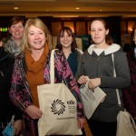Students from VTEC Milford at the ETB Adult Learner Fair in The Mount Errigal Hotel on Wednesday last. Photo Clive Wasson