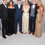 Royal and Prior students and there dates at the Royal and Prior School Raphoe Prom on Friday last in An Grianan Burt.  Photo Clive Wasson