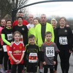 Some of the Raphoe Road Runners Club before their local 5k race on Sunday morning.