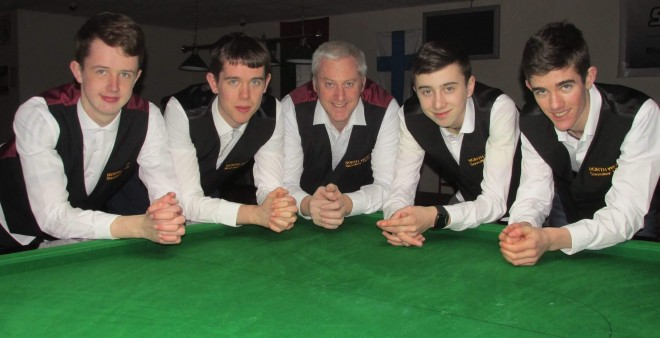 Members of NWSC (From left) Eamon Harkin, Conor Harkin, Shaun Bonner, Sean Devenney and Ronan Whyte.