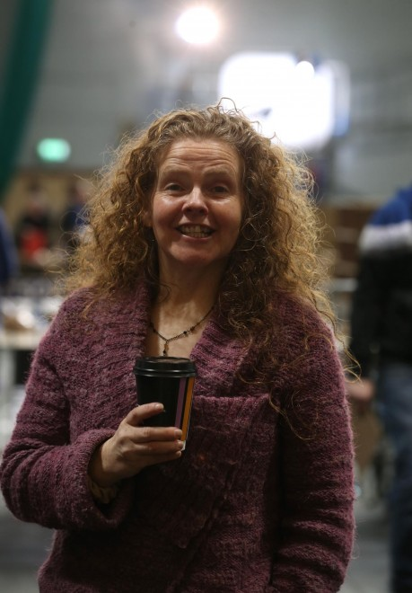 Paula Flanaghan, Green Party candidate at the Count Centre.