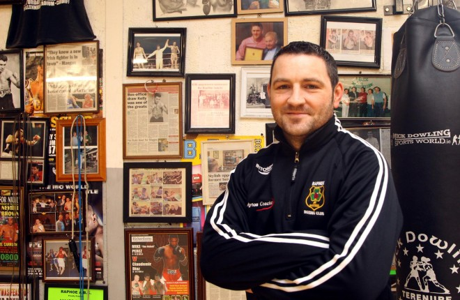 Gary McCullagh, Raphoe ABC. Photo: Donna El Assaad