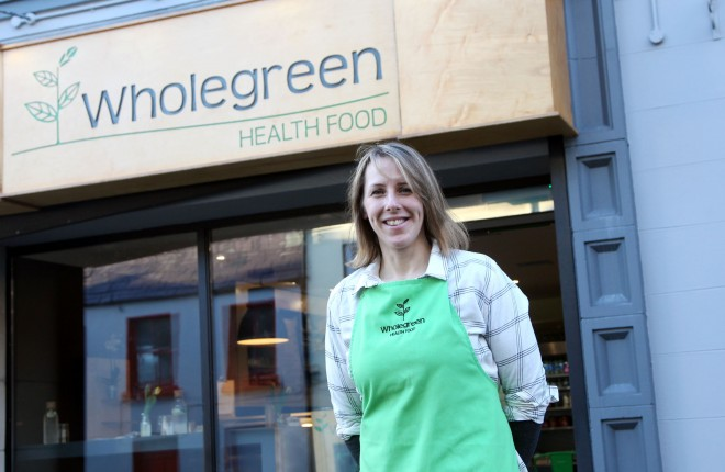 Anna Good, Wholegree, Healthfood Cafe, Church Lane. Photo: Donna El Assaad