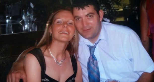 Sean Rowlette picutred with his late wife, Sally.