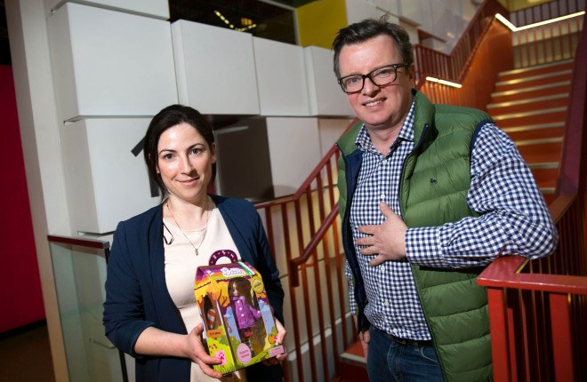 Google adopt A startup. Pictured are Kaitriona McBride, Ian Harkin both from Arklu.                Picture by Shane O'Neill Photography.