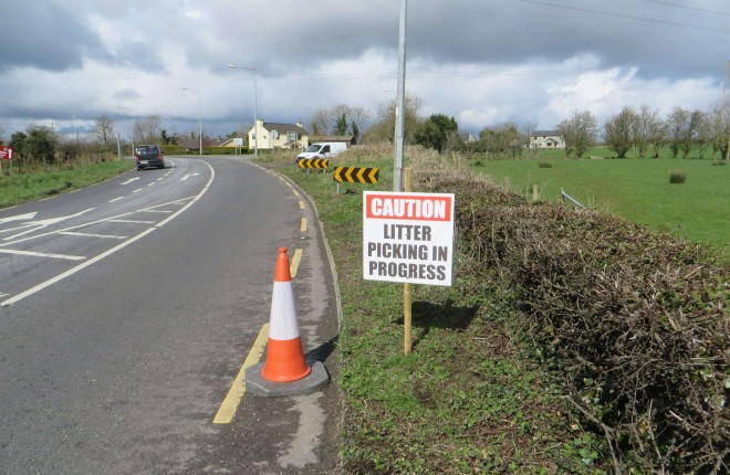 Watch out for Litter Picking in Progress signs near you in the coming weeks.
