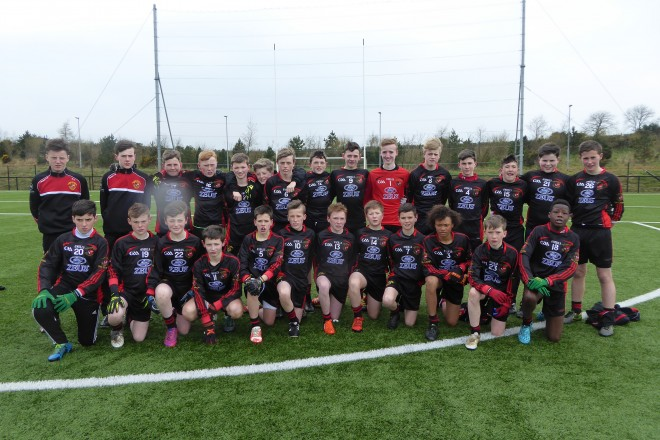 St Eunan's College team that qualified for Ulster Colleges Colmcille Cup Final