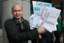 Anti-water charges campaigner, Paul Murphy TD.