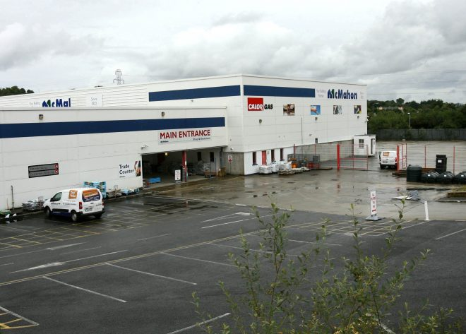 McMahon's building suppliers.