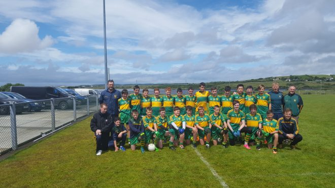 The Ardara U14 squad and management