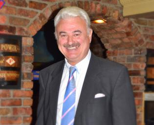 Presenter, Frank Galligan
