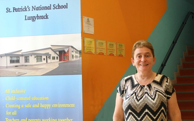 Ann Foxe, Lurgybrack NS Principal who is retiring after 35 years at the school. Photo: Donna El Assaad