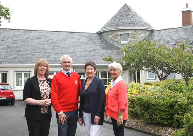 Donegal Hospice committee members Isobel Doherty, Administrator, Dr James McDaid, Chairman, Geraldine Casey, Treasurer and Grace Boyle, Vice-Chairperson.