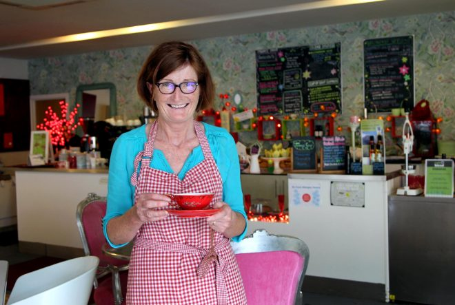 Pauline Sugrue, Cafe Blend Owner. Photo: Donna El Assaad