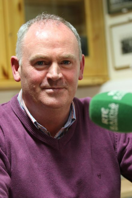Seamsu Mc Geady, head of Raidio na Gaeltachta in Donegal who died suddenly on Monday evening. (Pic: Eoin Mc Garvey)