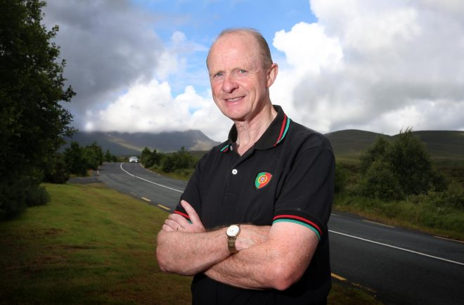 Hugh Rua Gallagher pictured at Glenveagh this week.