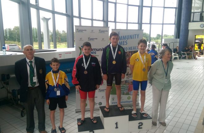 Swilly Seals swimmers delighted with their medals