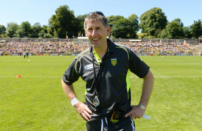 Donegal Minor manager Shaun Paul Barrett.