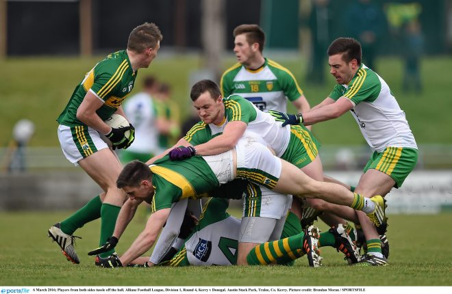 Tempers flared in last year's game in Tralee