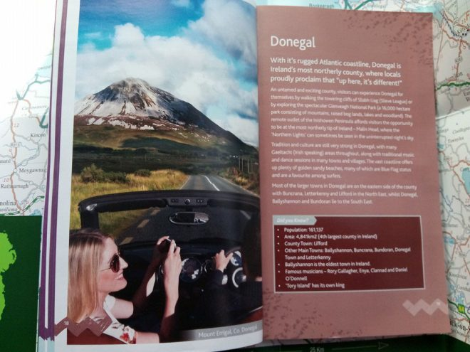 A picture of Errigal in the offending publication.