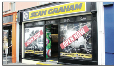 Sean Graham Bookmakers, Main Street, Letterkenny
