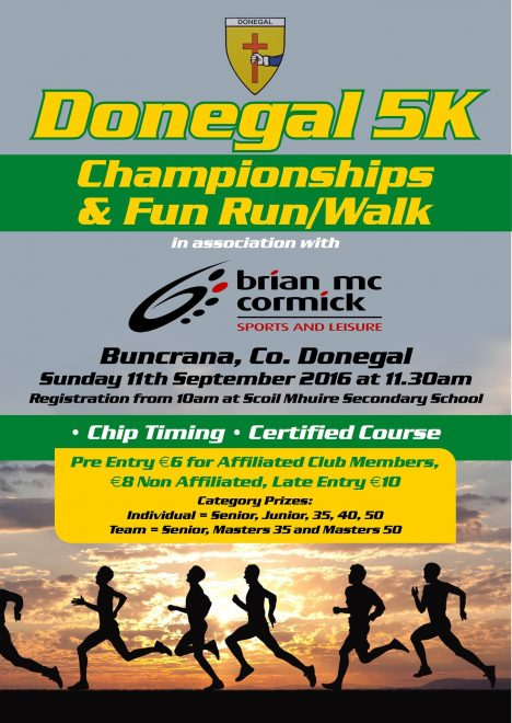 Donegal 5K Championships