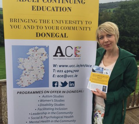 ACE at UCC Course Co-ordinator, Siobhan Murray.