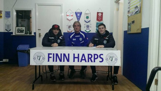 Ollie Harkin has started to recruit players for the new season with experienced campaigned Ciaran Coll and Gareth Harkin putting pen to paper on Wednesday night.