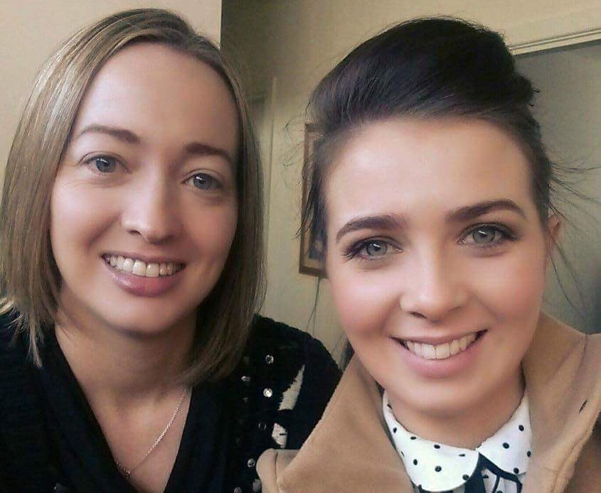 Louise Flanagan and Edel McElhinney.