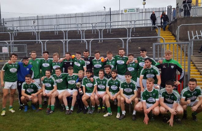 The Gaoth Dobhair under 21 team