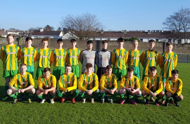 The Donegal Youth League team