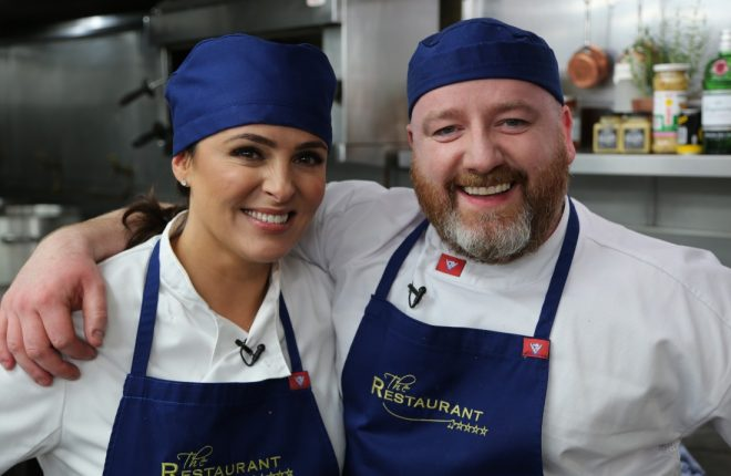 Grainne Seoige and Donegal Chef, Gary O'Hanlon.