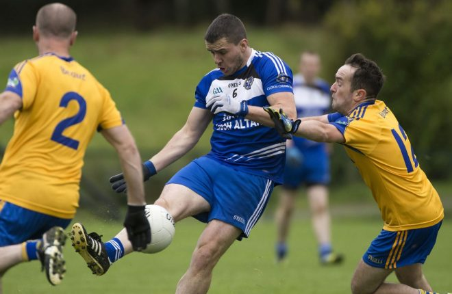 Kevin Mulhern will be key to Cloughaneely's chances this weekend.