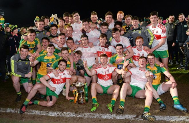 Donegal u21's are Ulster Champions.