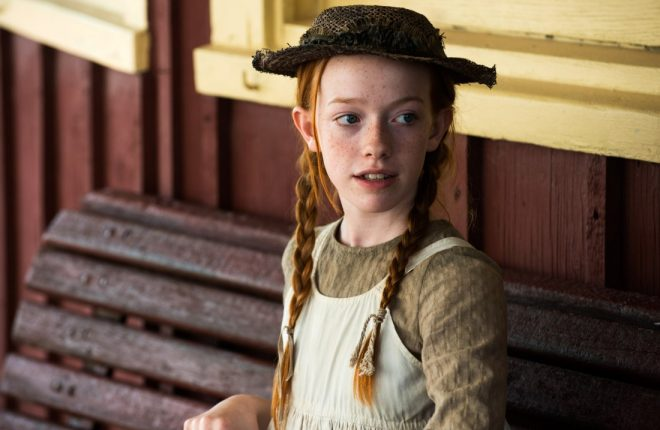 Donegal actress Amybeth McNulty who can be seen on screen later today in the new Netflix series, Anne.