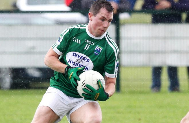 Noel Kelly, who will play for Gaoth Dobhair this week