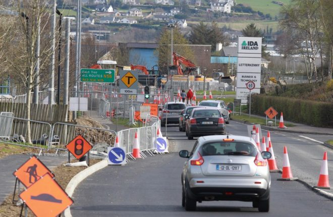 Cllr Gerry McMonagle has said mistakes of the past have led to today's traffic problems in Letterkenny.