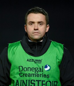 Maxi Curran, the Donegal Under 21 manager.