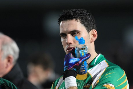 Glenswilly captain James Pat McDaid, dejected after the match. Photo by Donna McBride