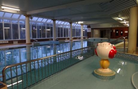 The Swimming Pool At Jackson S Hotel Ballybofey